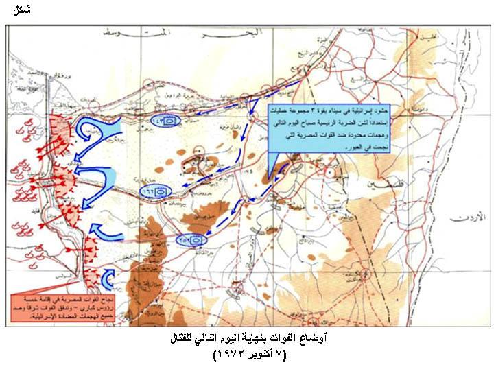 البرقية من حافظ إسماعيل إلي كيسينجر يوم 7 أكتوبر 1973 تتضمن قول السادات بأنه لن يعمق مدي الإشتباكات  Fig10